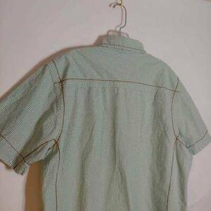 American Rag Shirts - American Rag Cie Western Shirt Green Plaid Large